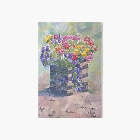 Planter at Canazei Art Board Print