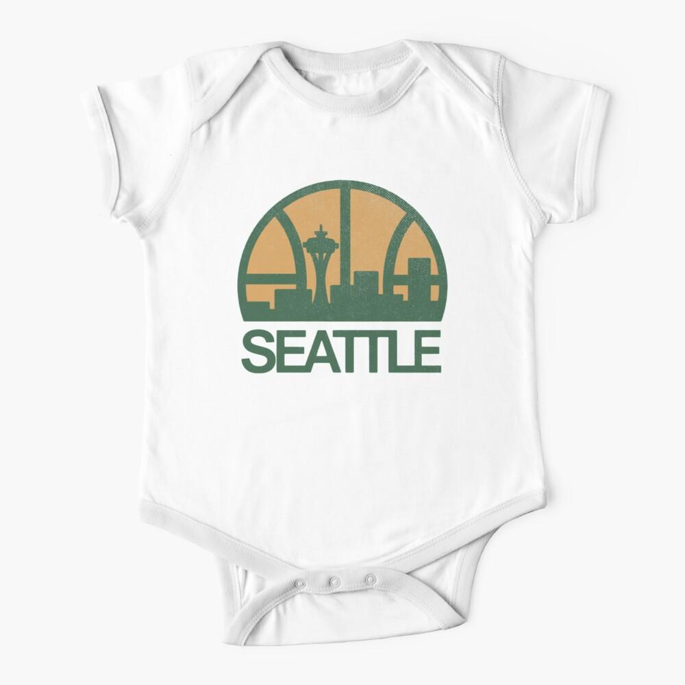 Seattle Sonics Baby One-Piece