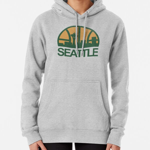 Seattle Sonics Pullover Hoodie