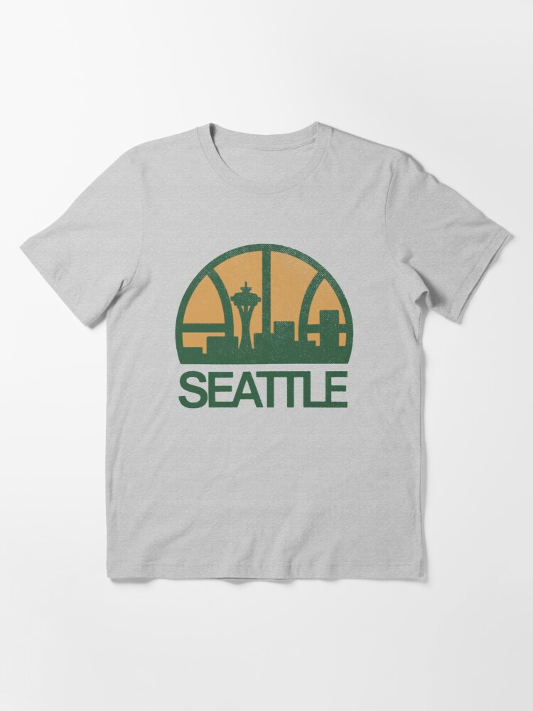 Alternate view of Seattle Sonics Essential T-Shirt