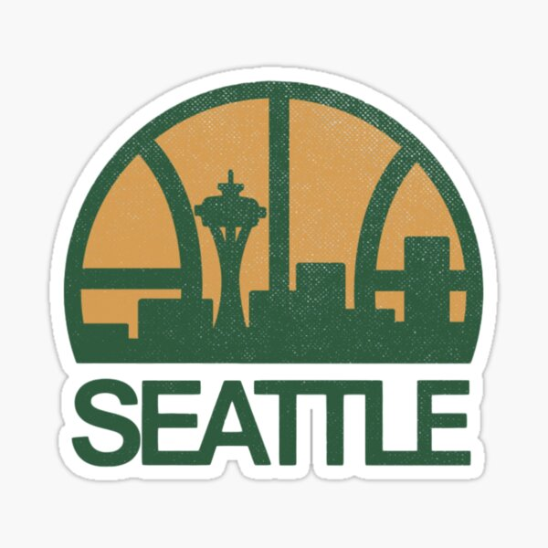Seattle Sonics Sticker