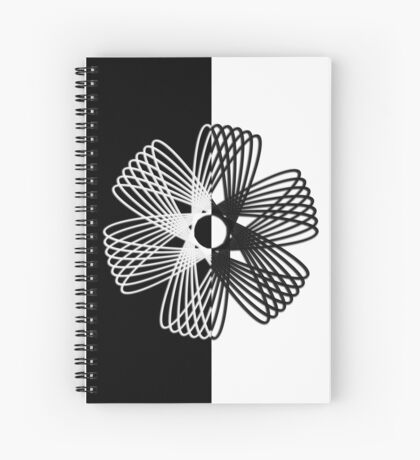 Hypocycloid I Spiral Notebook