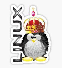 Linux - King Sticker