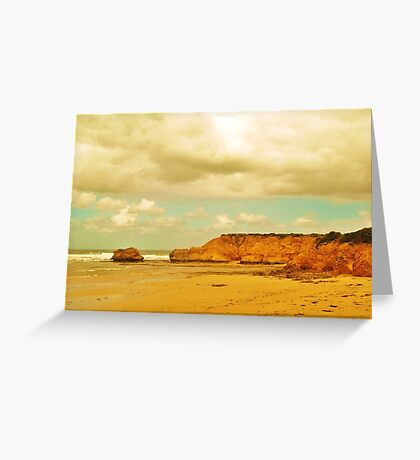 sunshine on a cloudy day Greeting Card