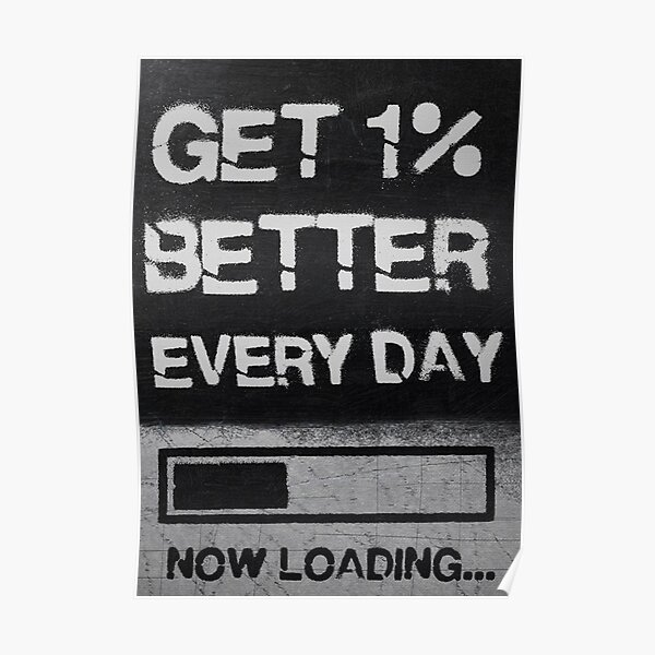Get 1% better every day now loading Poster