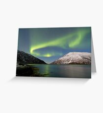 Aurora Reflection II Greeting Card