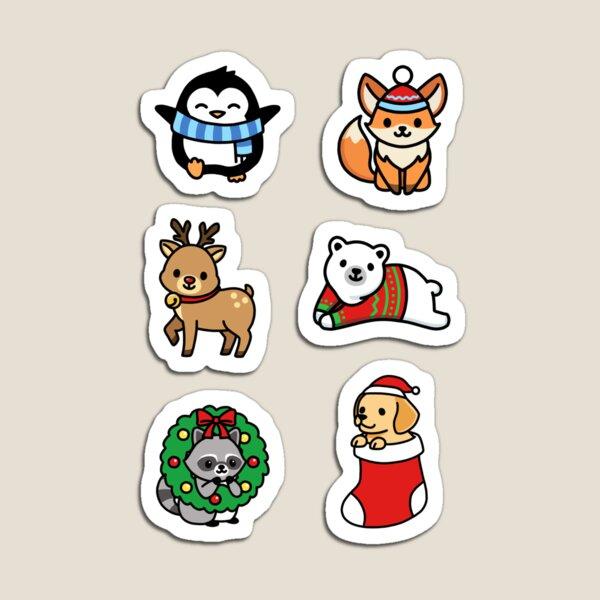 Holiday Animals Magnet