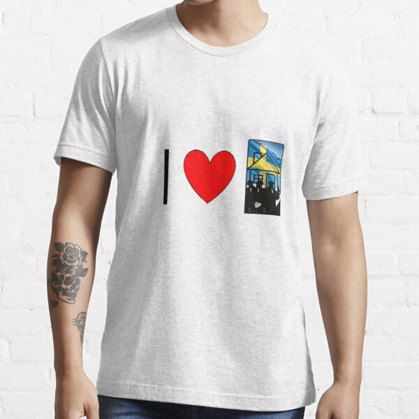 Amo la mafia de la casa sueca Camiseta esencial