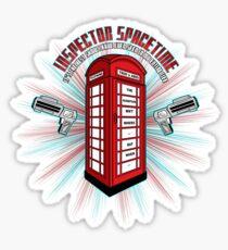 Inspector Spacetime v.2 Sticker