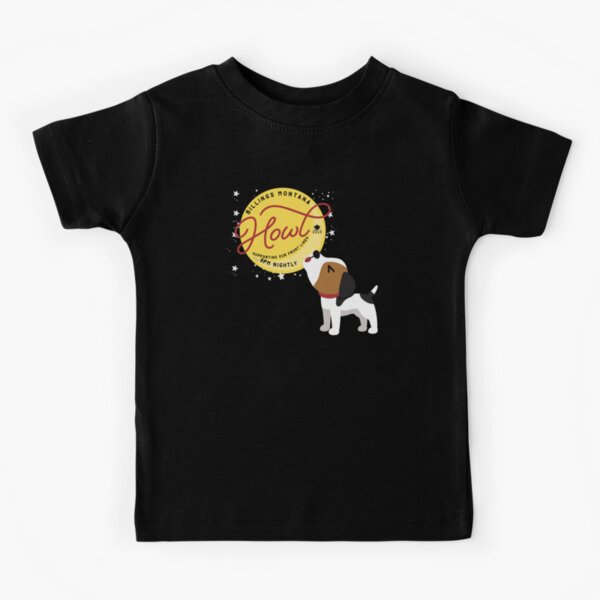 Billings Howl Puppy Kids T-Shirt
