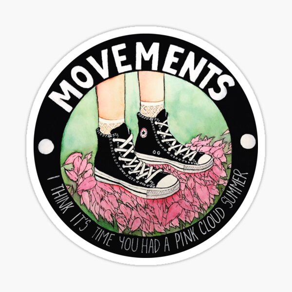 Movements-Daylily Sticker