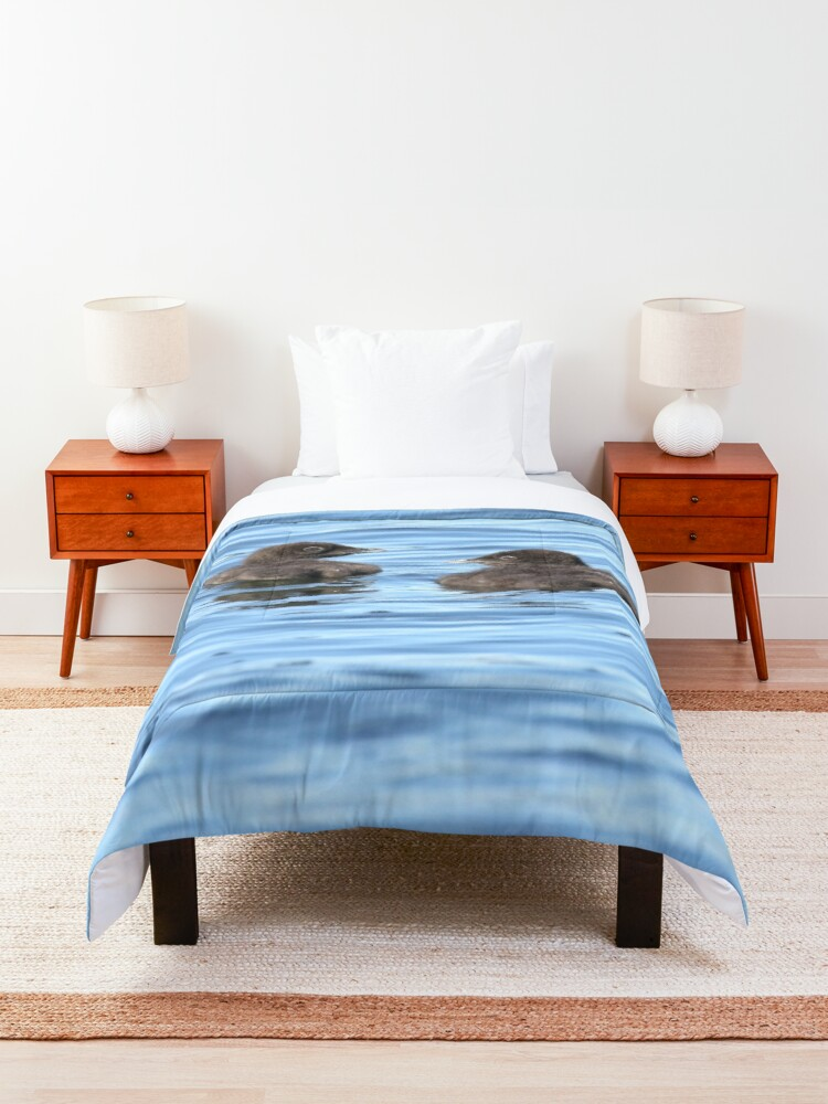Alternate view of Baby loons Comforter