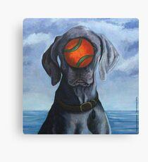 DOG OF MAN Canvas Print
