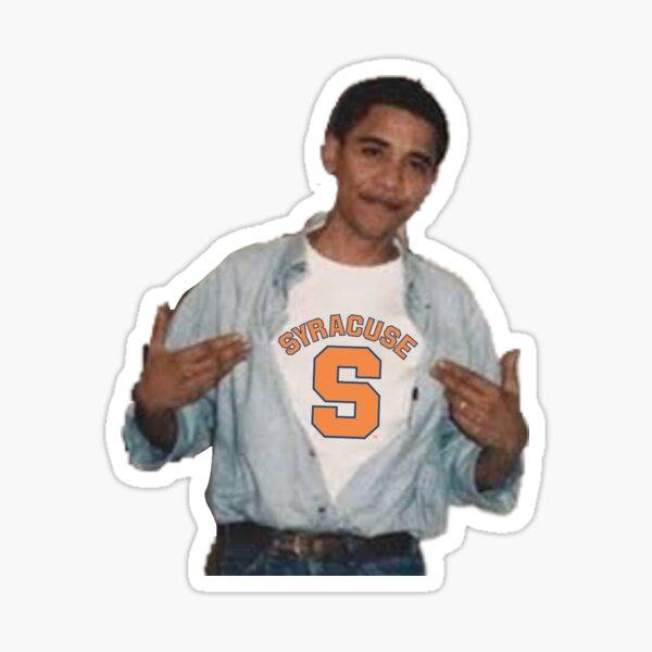Obama Syracuse Sticker