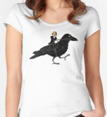 Poe and Raven Women's Fitted Scoop T-Shirt