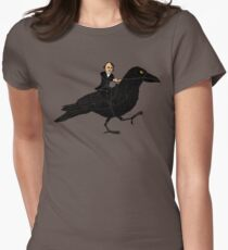 Poe and Raven Women's Fitted T-Shirt