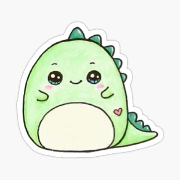Pickle the dinosaur squishmallow Sticker