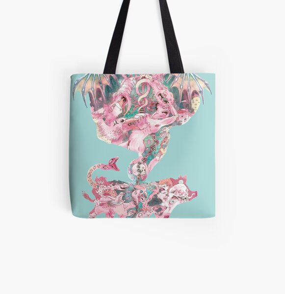 Chimera All Over Print Tote Bag