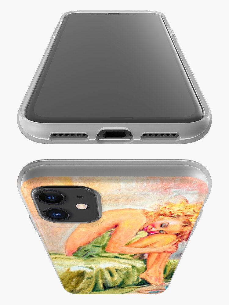 Alternate view of Woman In Blissful Ecstasy iPhone Case & Cover
