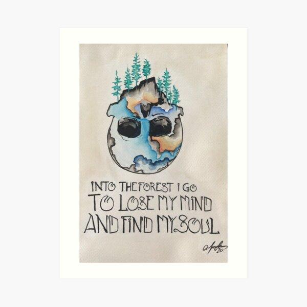 Soul Forest Art Print