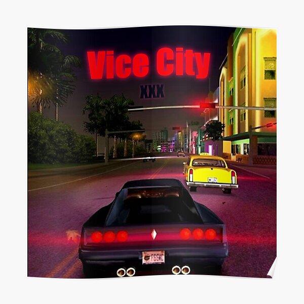 Vice City XXXTentacion Poster