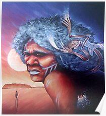 Aborigine Dreams Poster