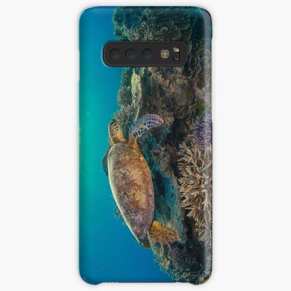Sunset turtle Samsung Galaxy Snap Case