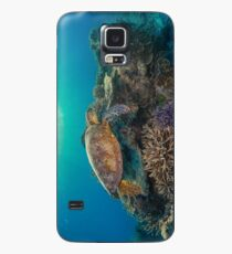 Sunset turtle Case/Skin for Samsung Galaxy