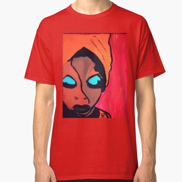 The Legend Nina Simone by Voni Blue Classic T-Shirt