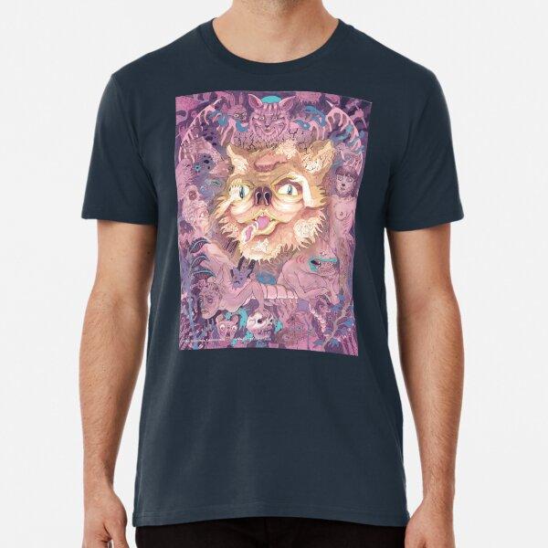 Mishipeshu Underwater Panther Premium T-Shirt