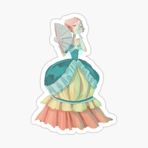 Steven Universe Victorian Pearl Sticker