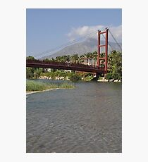Puerto Banus bridge Photographic Print