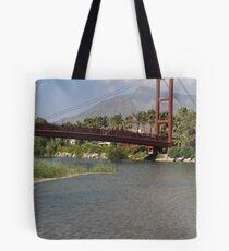 Puerto Banus bridge Tote Bag
