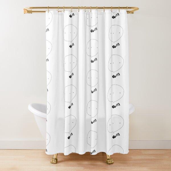 Stinky Skunk - dot dot dot Shower Curtain