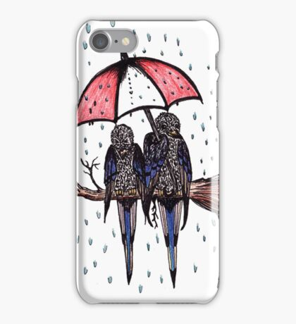 Tipping it Down iPhone Case/Skin