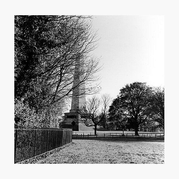 Wellington Monument, Phoenix Park, Dublin Photographic Print