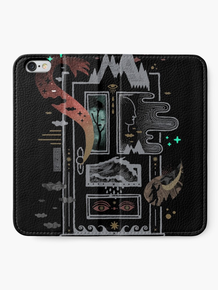 Alternate view of Stay Home iPhone Wallet