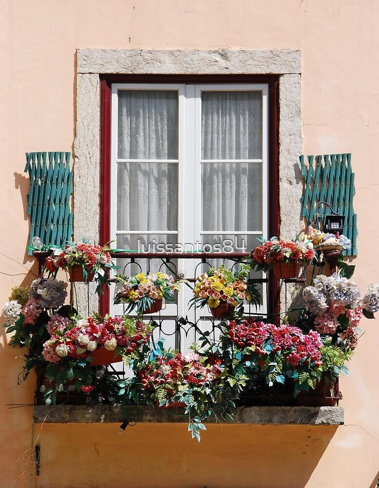 Lisbon´s window balcony by luissantos84