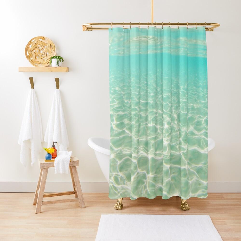 Bora Bora Underwater Shower Curtain