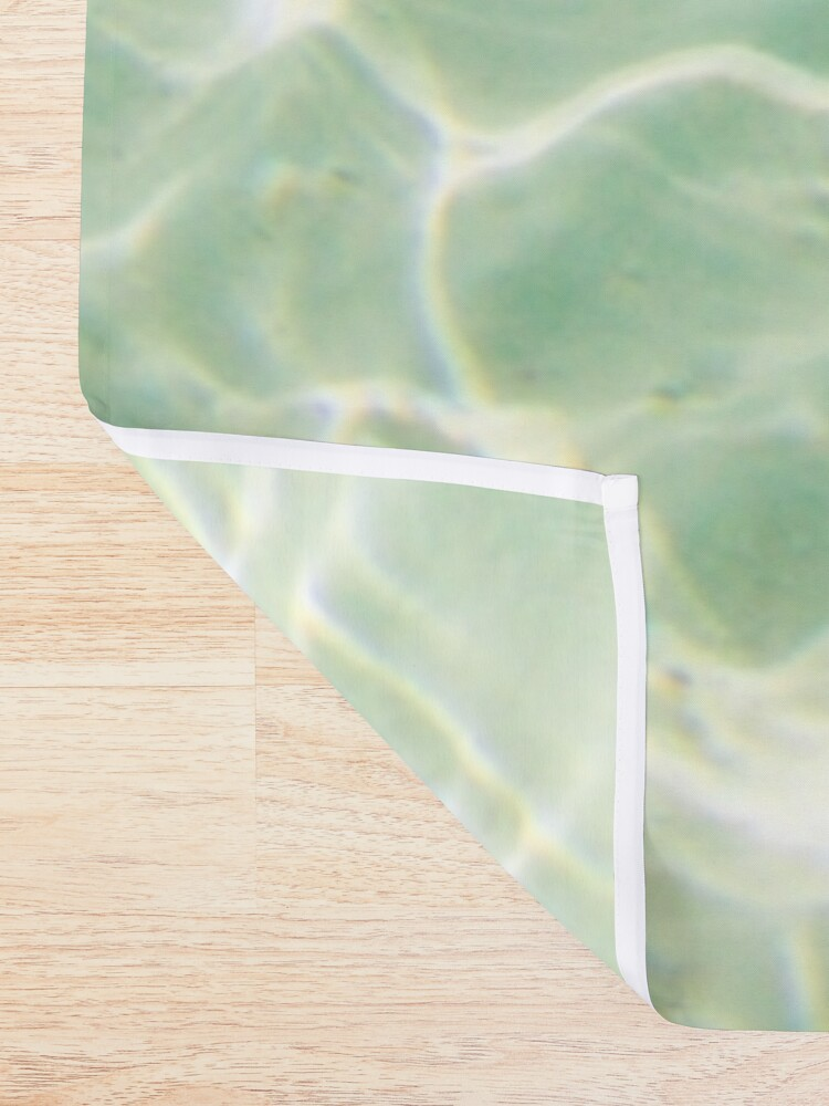 Alternate view of Bora Bora Underwater Shower Curtain