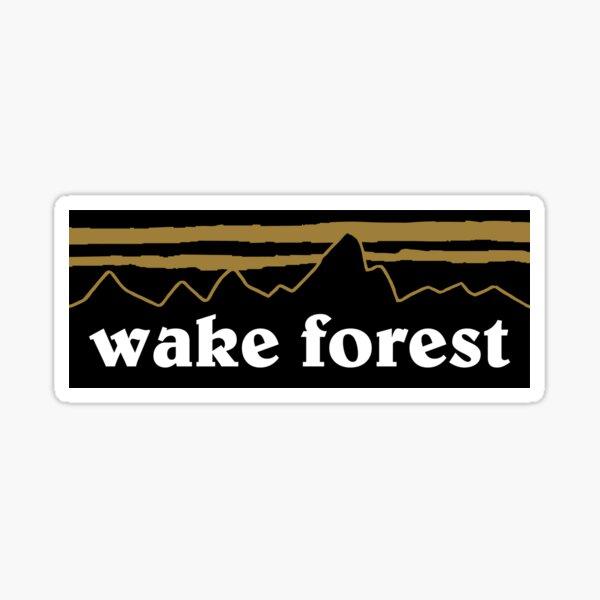 wake forest mountain sticker Sticker