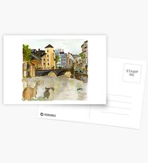 Annecy River Postcards