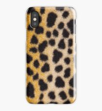 False leopard skin spots iPhone Case/Skin