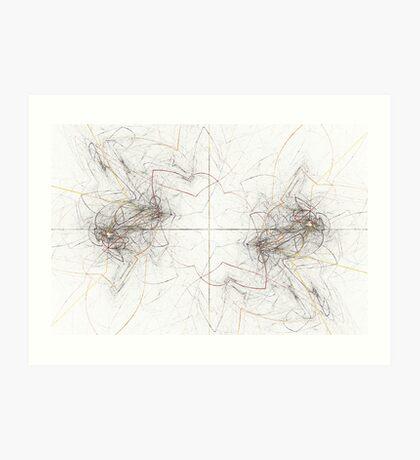 Oscillating Art Print