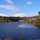 Snowy Reservoir - Brecon Beacons by Radeon12345