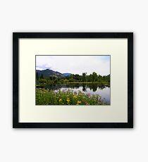 Shuswap River Framed Print