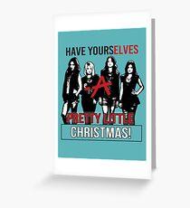 PRETTY LITTLE LIARS: Pretty Little Christmas Greeting Card