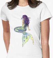 Mermaid Women's Fitted T-Shirt