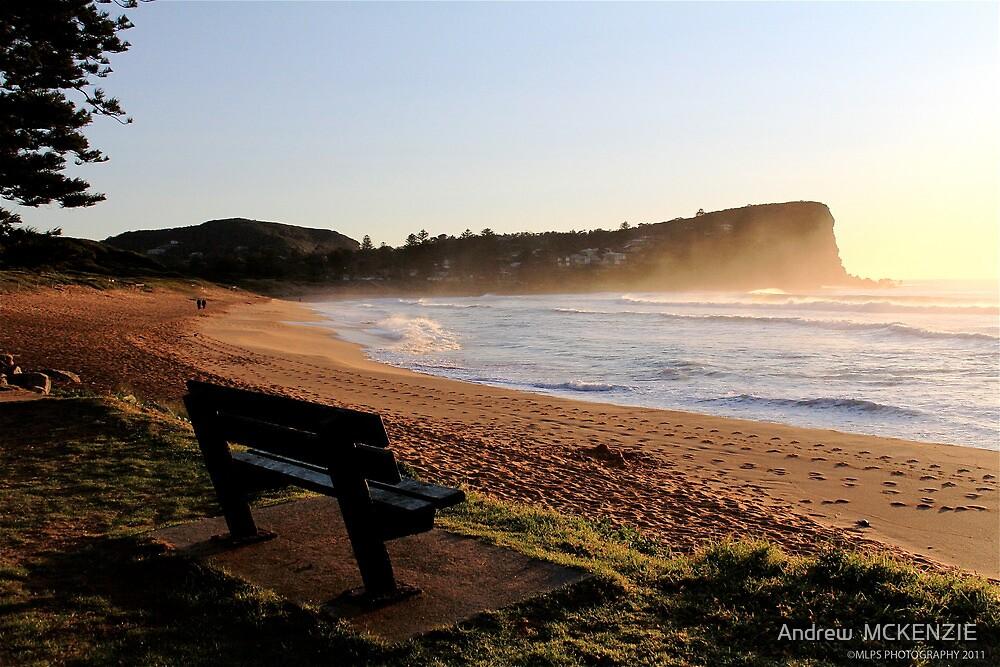 Avalon Beach Sunrise by Andrew  MCKENZIE