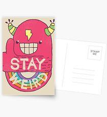 STAY WEIRD! Postcards